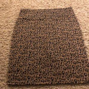 Lularoe animal print skirt sz 3XL